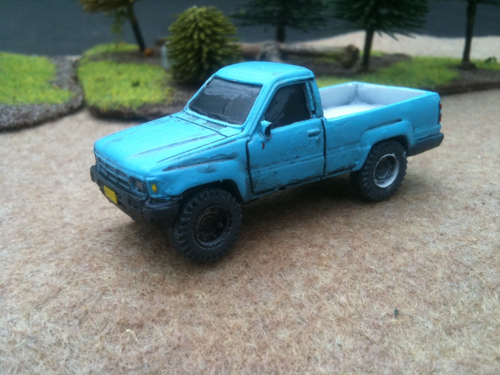 1/72 Hi Lux Pickup (HD11)